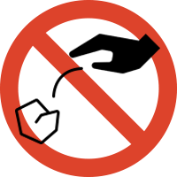 Image of No littering