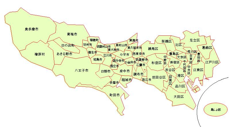 区市町村別水害データ